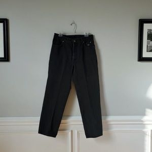 HARLEY DAVIDSON   Black Relaxed Fit Jeans   34x30
